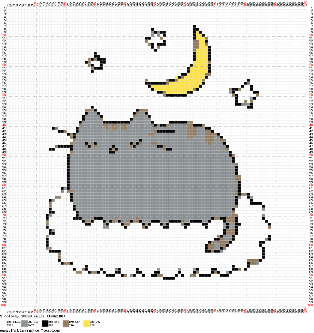 DeviantArt: More Like Pusheen The In The Sky by Nenetchy ...
