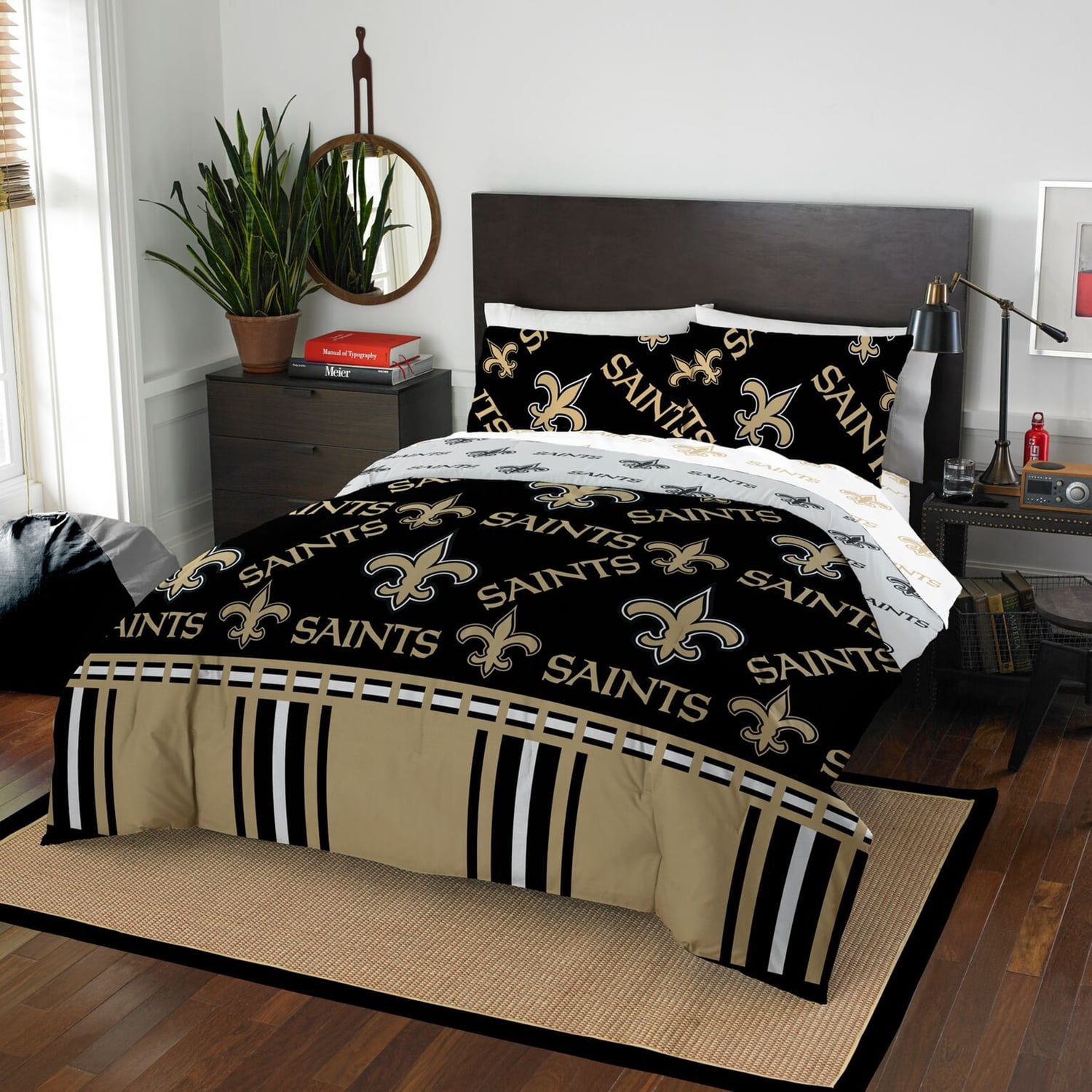 New Orleans Saints NFL Full Bedding Set by Northwest