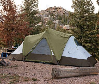 Slumberjack C& Tent ~ 3 season tent; sleeps up to 8 people | Cabelau0027s & Slumberjack Camp Tent ~ 3 season tent; sleeps up to 8 people ...