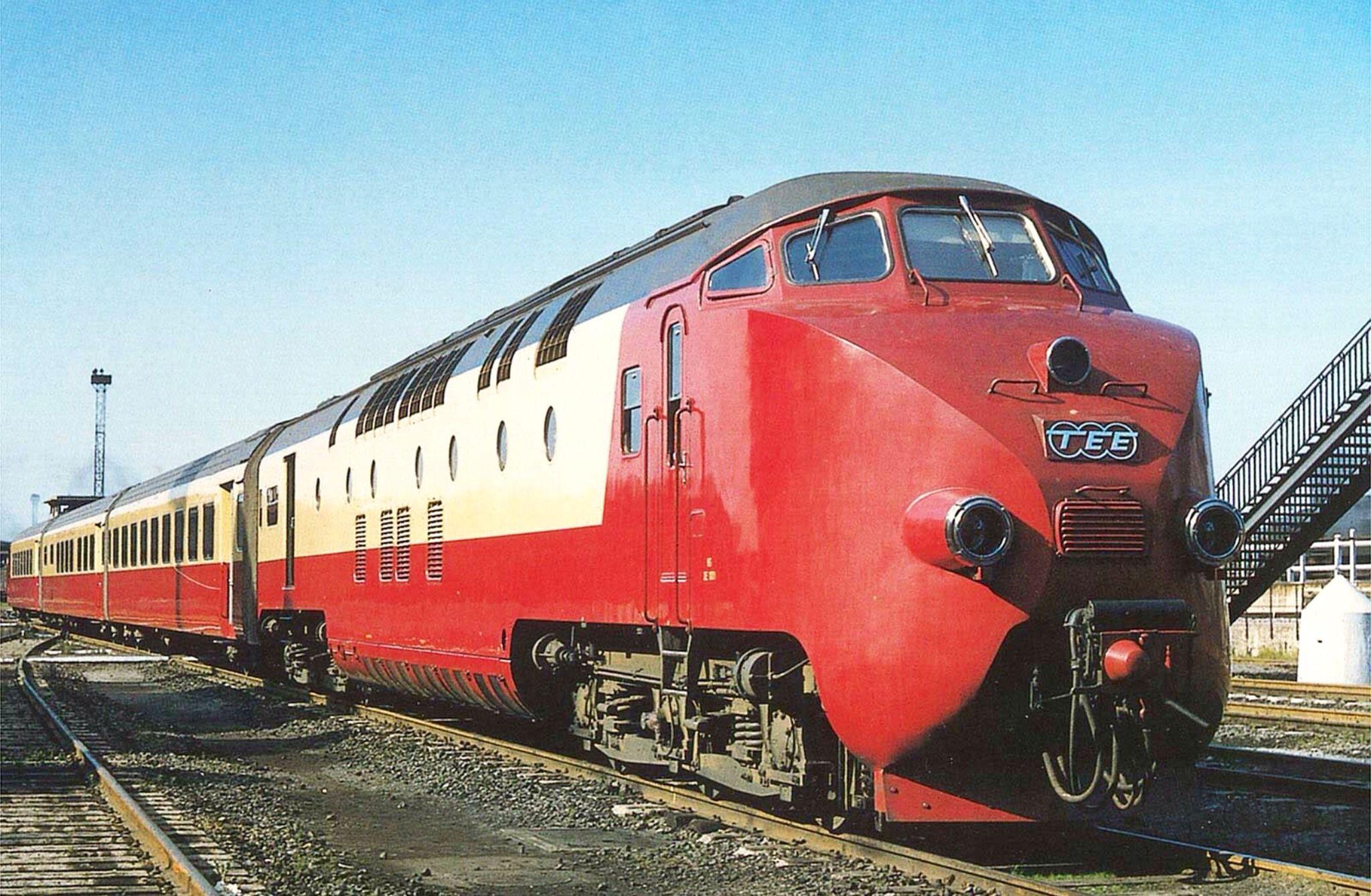 Class RAm NS/SBBCFF Diesel Dmu TEE between Benelux and