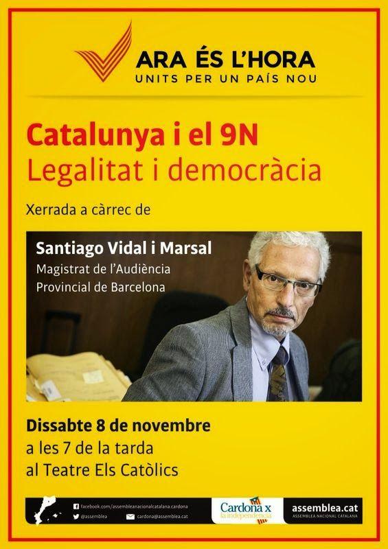 Política Totcat: SANTIAGO VIDAL I MARSAL A CARDONA: CATALUNYA I EL ...