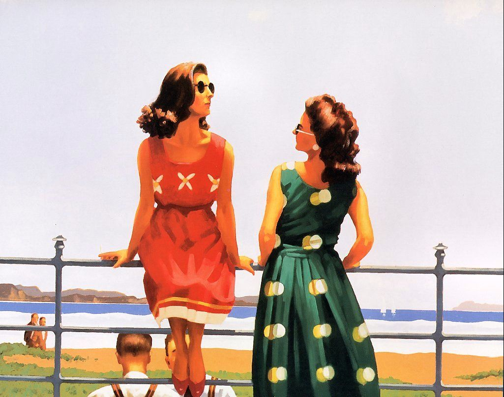 Something in the Air - Jack Vettriano