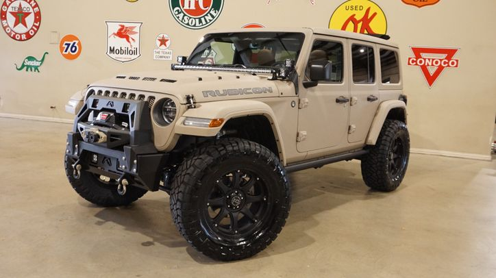 2019 Jeep Wrangler Jl Unlimited Rubicon 4x4 Sky Top Dupont Kevlar Lifted Led S In Carrollton Tx 75006 Jeep