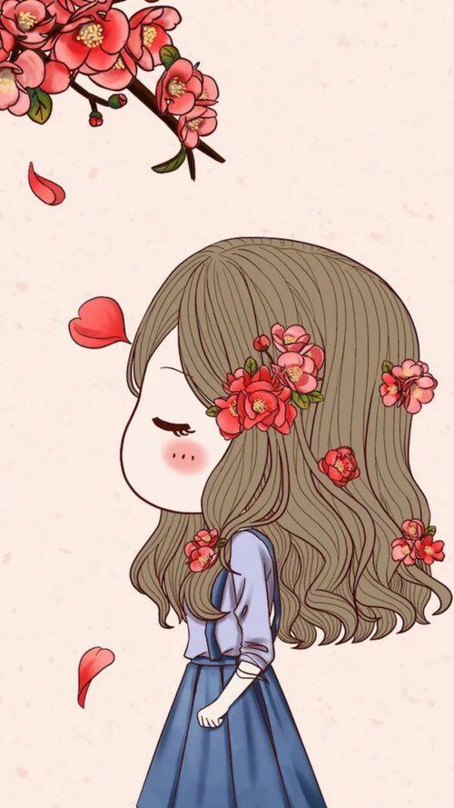 Weheartit Entry 260898660 Korean AnimeCouple WallpaperChibi