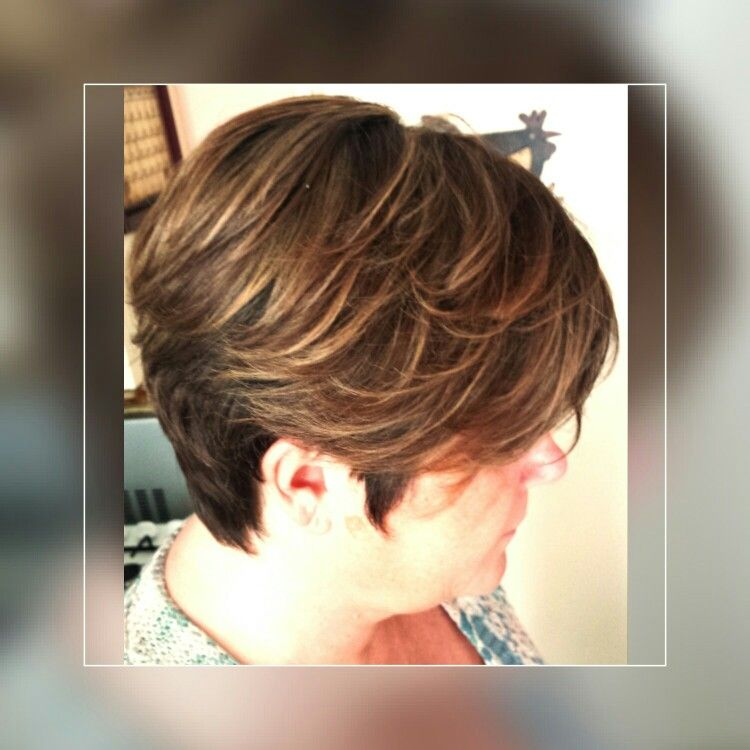 Short Hair For Women Highlights Blonde Lizzy Van Wanrooij