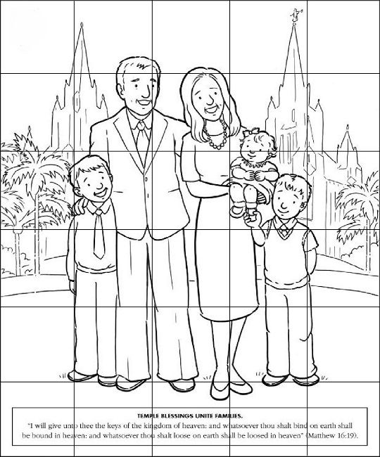 lds nursery easter coloring pages   Lds coloring pages ...