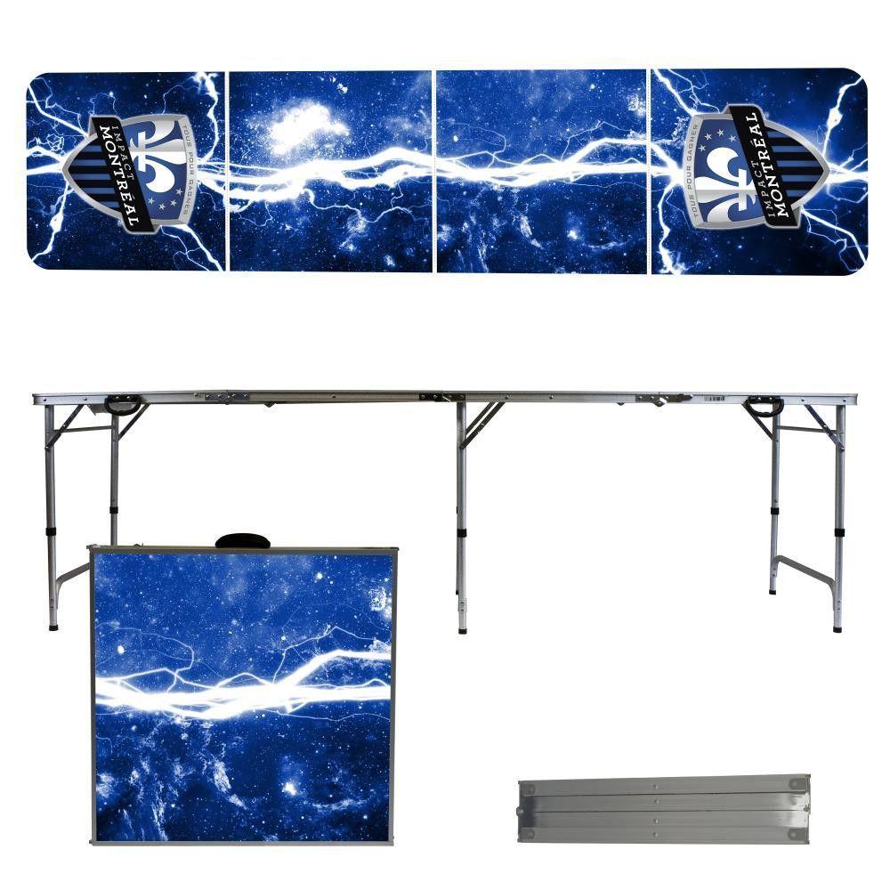 Montreal Impact Lightning Bolt Portable Folding Table