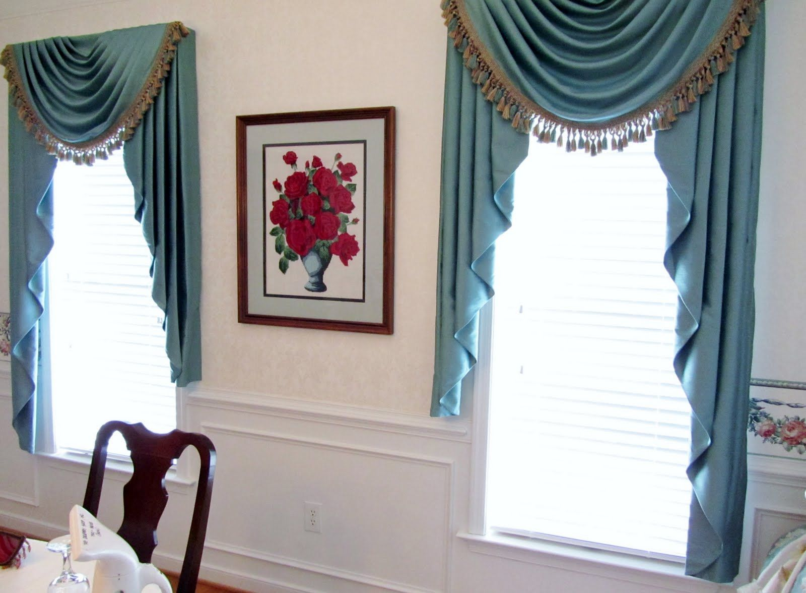 Swag Traditional Window Treatment, Curtain | Window Treatments ...
