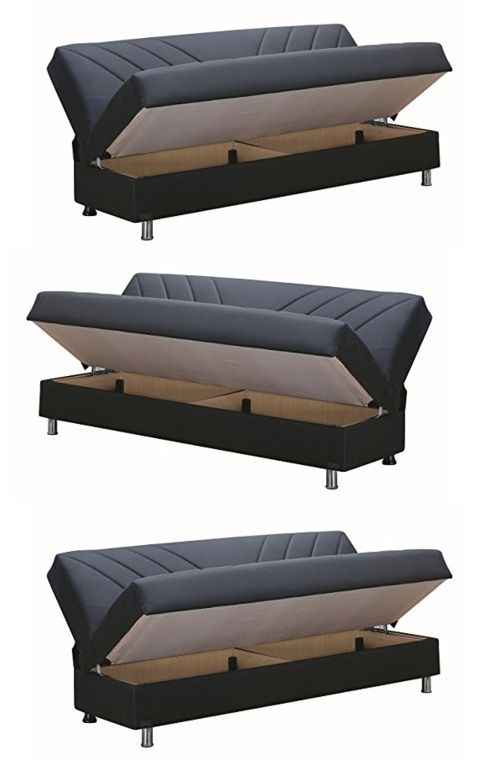 Click Clack Sofa Bed With Storage 2019 In 2020 With Images