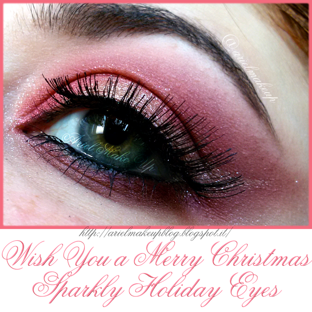 Ariel Make Up ~ Make Up & Beauty with a Princess Touch: ♕ Wish You a Merry Christmas ~ Sparkly Holiday Eyes ♕