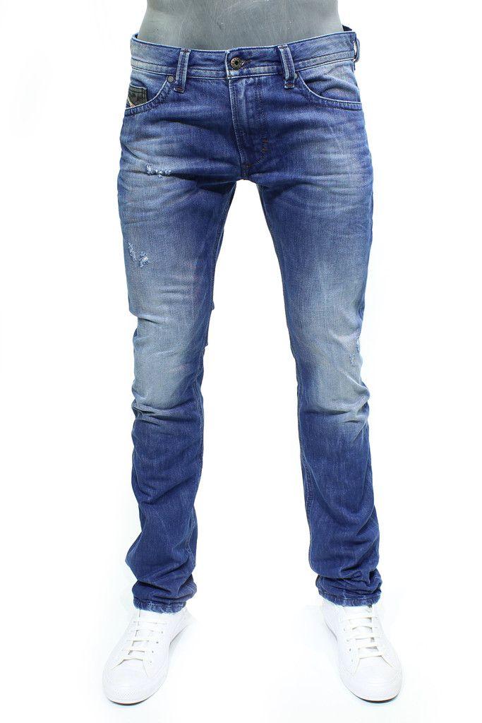 dc457b40 DIESEL THAVAR Jeans 663E (Slim Fit) | mens fashion | Diesel jeans ...