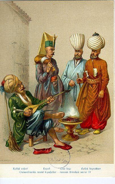 Janissaries, Ottoman. | Erkek figür | Pinterest | Ottomans ...  Janissaries, Ot...