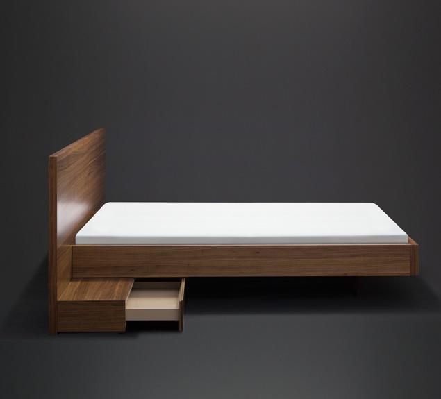 bett mit nachtablage mobilamo design ma m bel online schlafzimmer pinterest. Black Bedroom Furniture Sets. Home Design Ideas