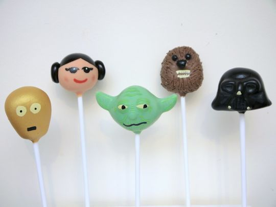 Star Wars Cake Pops!