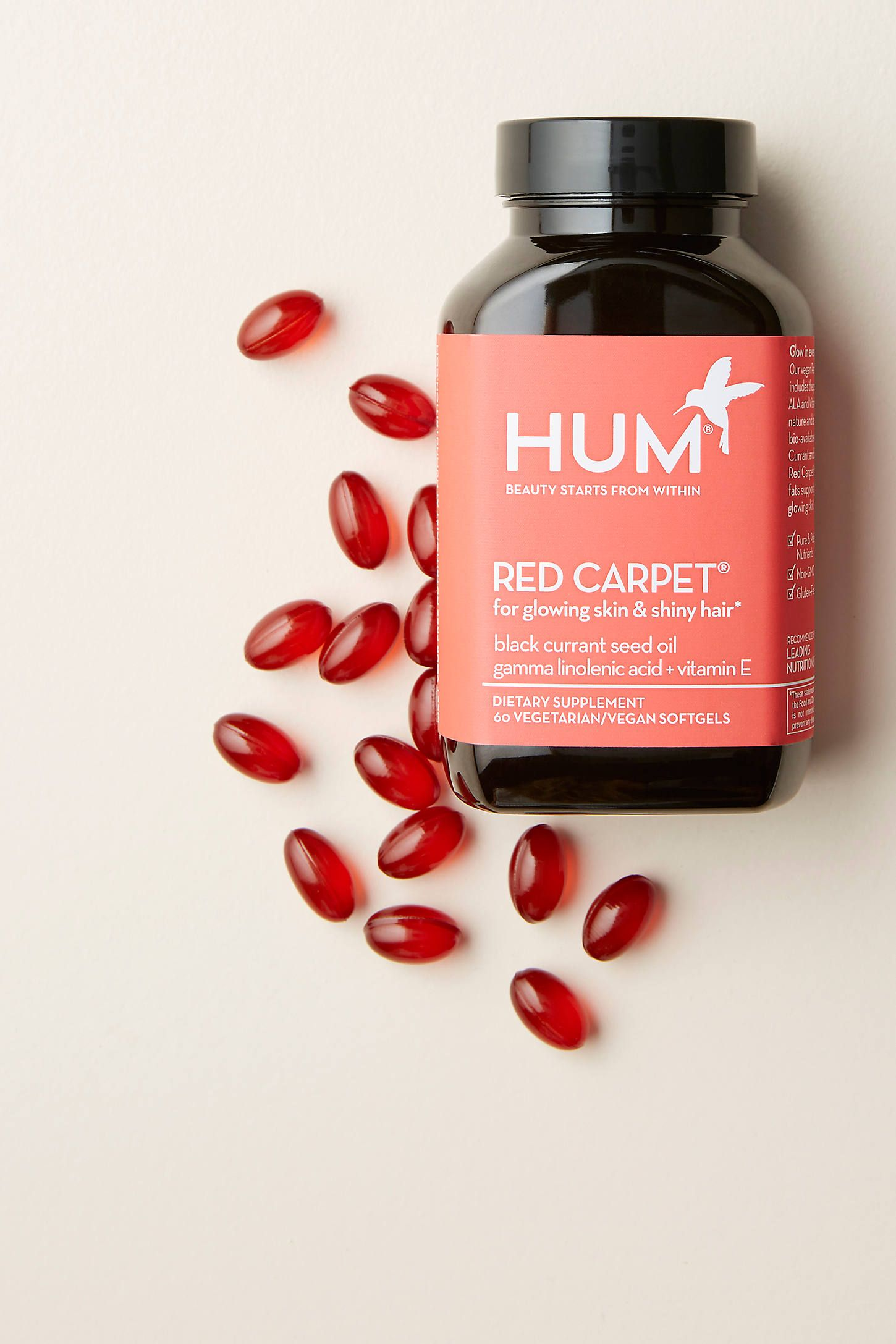 Hum Nutrition Red Carpet Supplements by HUM in Size: All, Wellness at Anthropologie