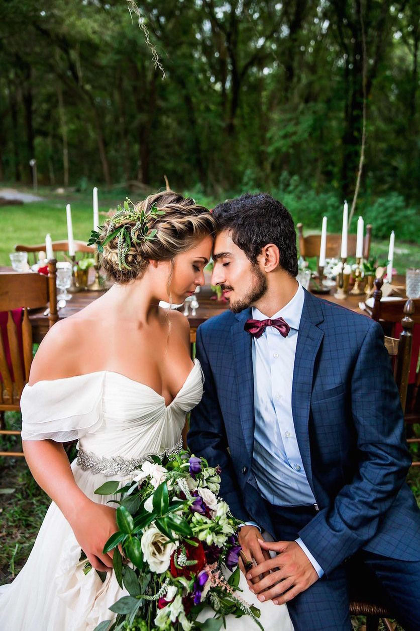 Southern style wedding dresses  Romantic Southern Elegance Wedding Inspiration  Ranch style Ranch