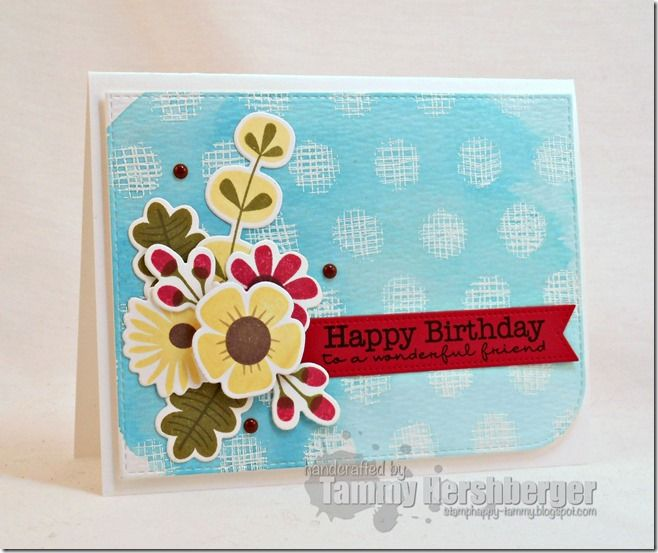 Fall Florals MFT stamps Cheesecloth background stamp through – Jumbo Birthday Cards