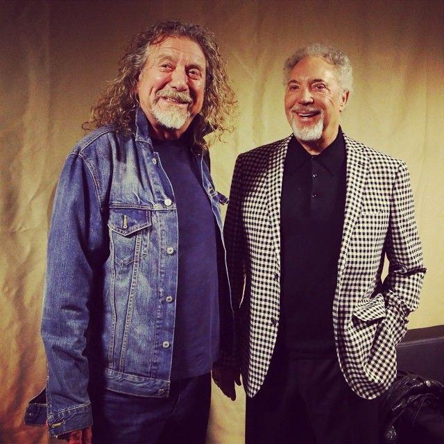 Tom Jones & Robert Plant