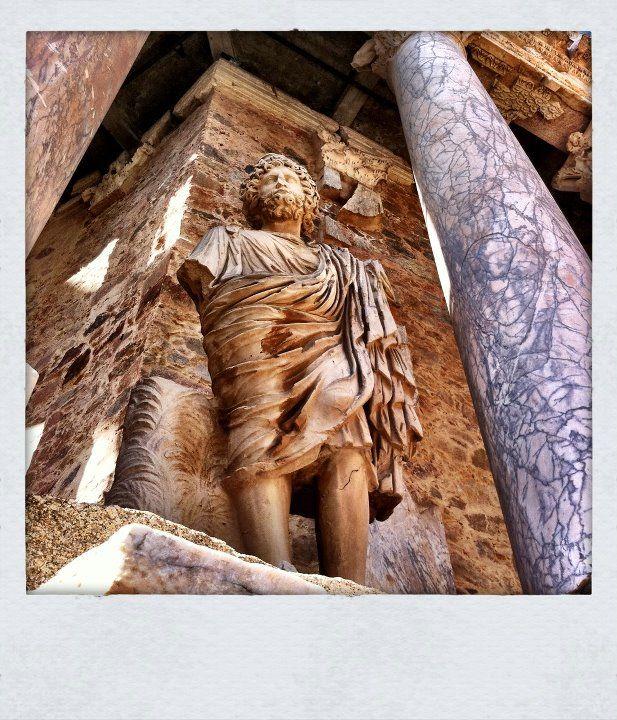 Mérida - Spain known as Emerita Augusta was a main city in Roman Hispania.