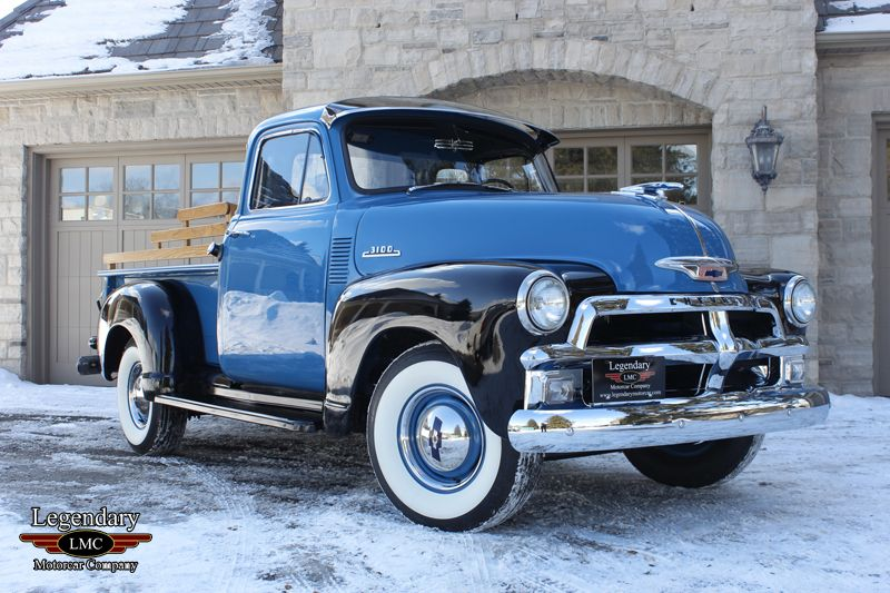 1954 Chevrolet 3100 5 Window Pickup Classic Chevy Trucks Chevy Trucks 54 Chevy Truck
