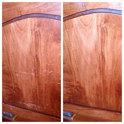 Make Your Wood Cabinets Look New Again With One Wipe Best And Easiest Product I Ve Used For Giving Furniture A Life