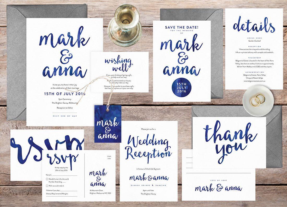 Wedding Invitations Stationery
