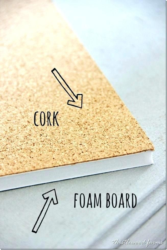 Cork Board Picture Frame Design Your Own Cork Board Chalkboard With