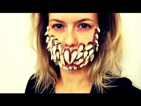 SCARY TOOTH FAIRY HALLOWEEN MAKEUP TUTORIAL! - YouTube | Fall ...