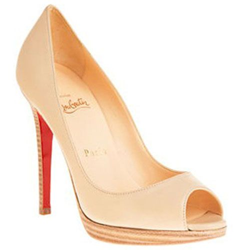 All You Need is Love And Christian Louboutin Yolanda 120mm Peep Toe Pumps  Nude EDL!