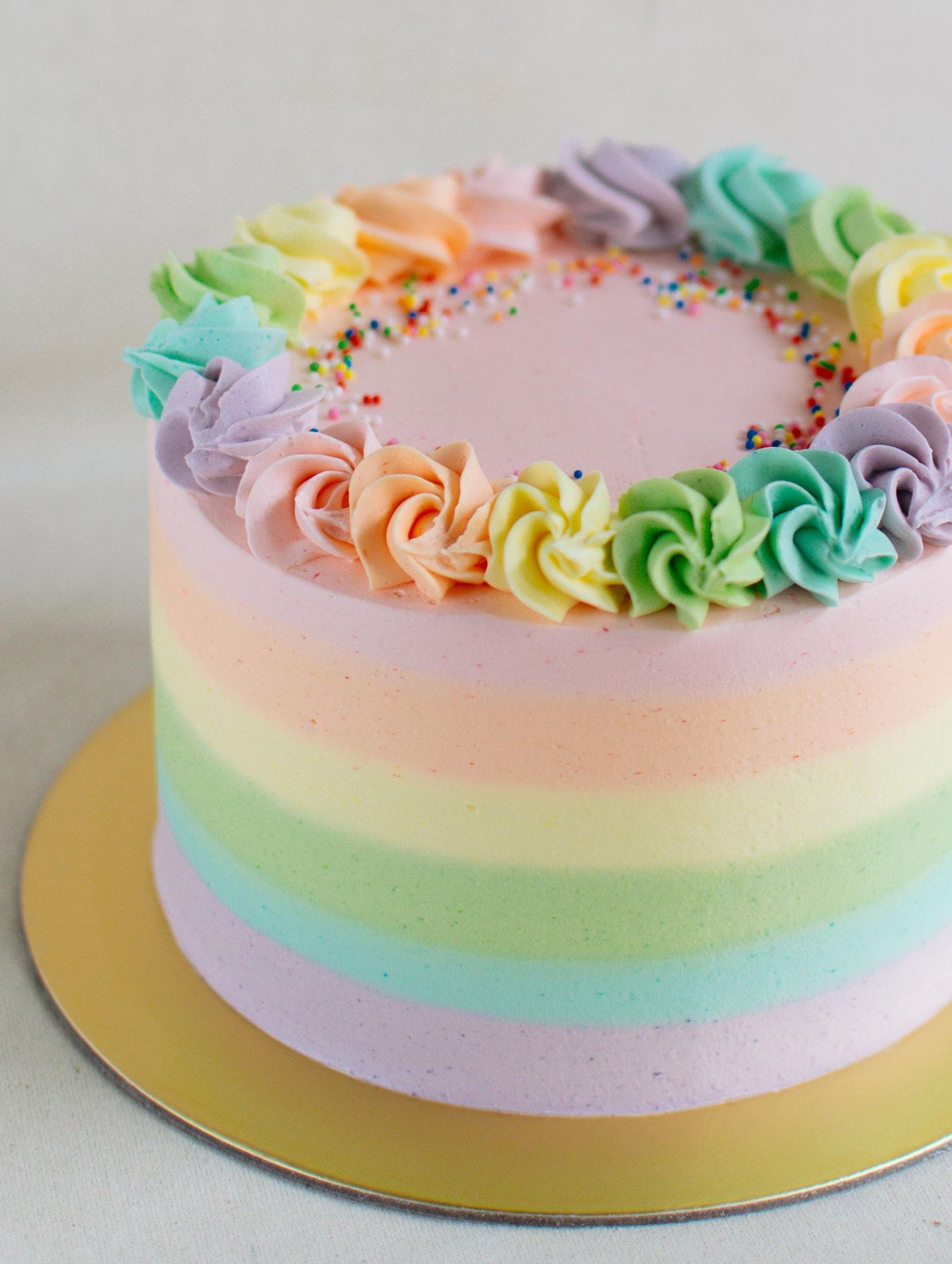 Edith Patisserie With Images Pastel Cakes Pastel Rainbow Cake