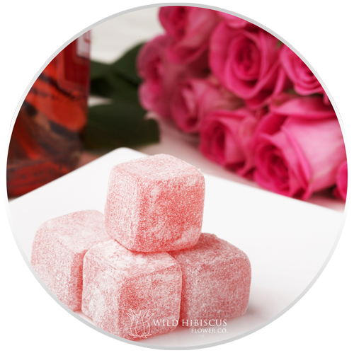 Flower Extract Rose + Hibiscus Turkish delight