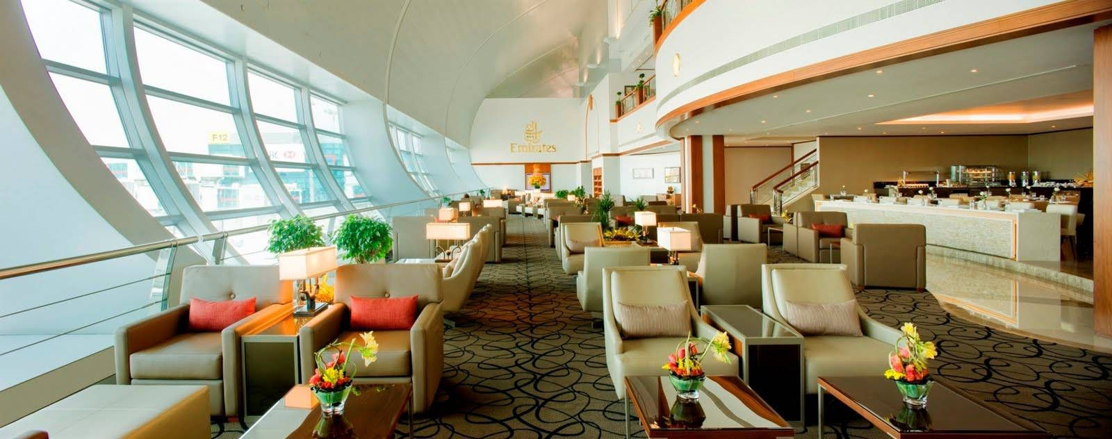 Emirates Lounge | Globe Trotter | Dicas para viajantes | Pinterest
