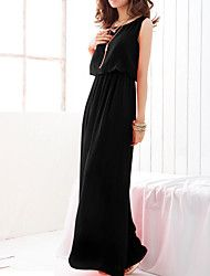Women's Chiffon Bohemian Round Collar Sleeveless Swing Maxi Dress Save up to 80% Off at Light in the Box using Coupon and Promo Codes.