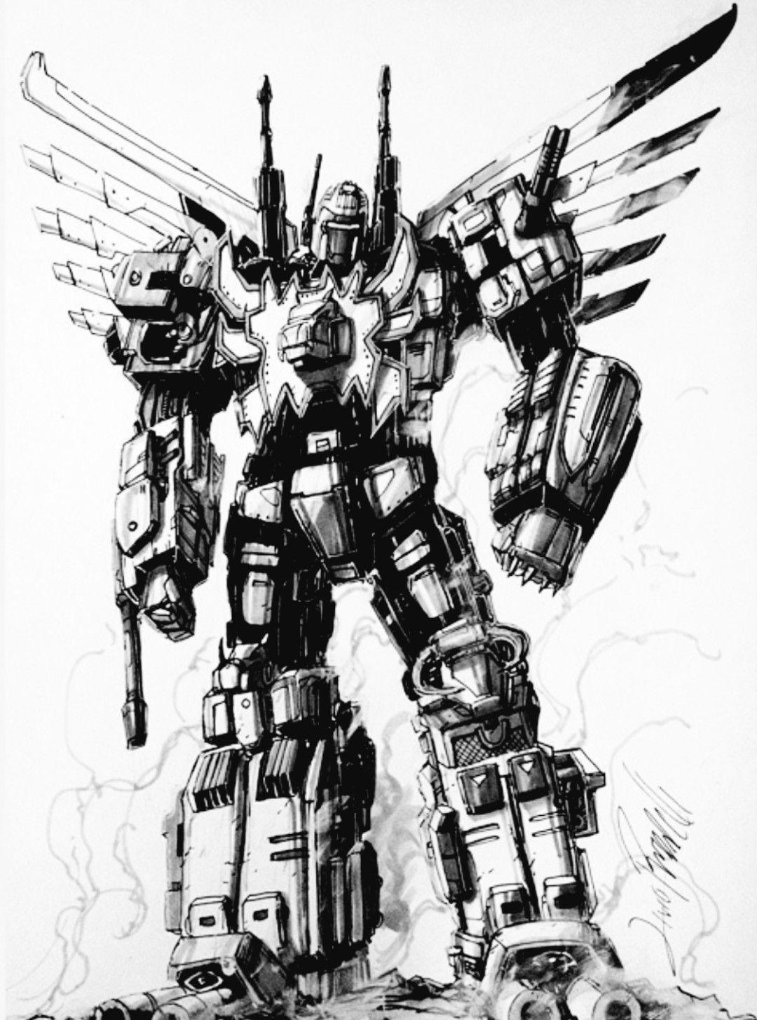 Predaking transformers coloring pages ~ Lio Convoy Sketch by ZeroMayhemdeviantartcom on t