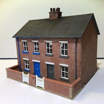 OO Gauge Scratch Built Brick Semi Detached House, Skaledale,Scenecraft   eBay