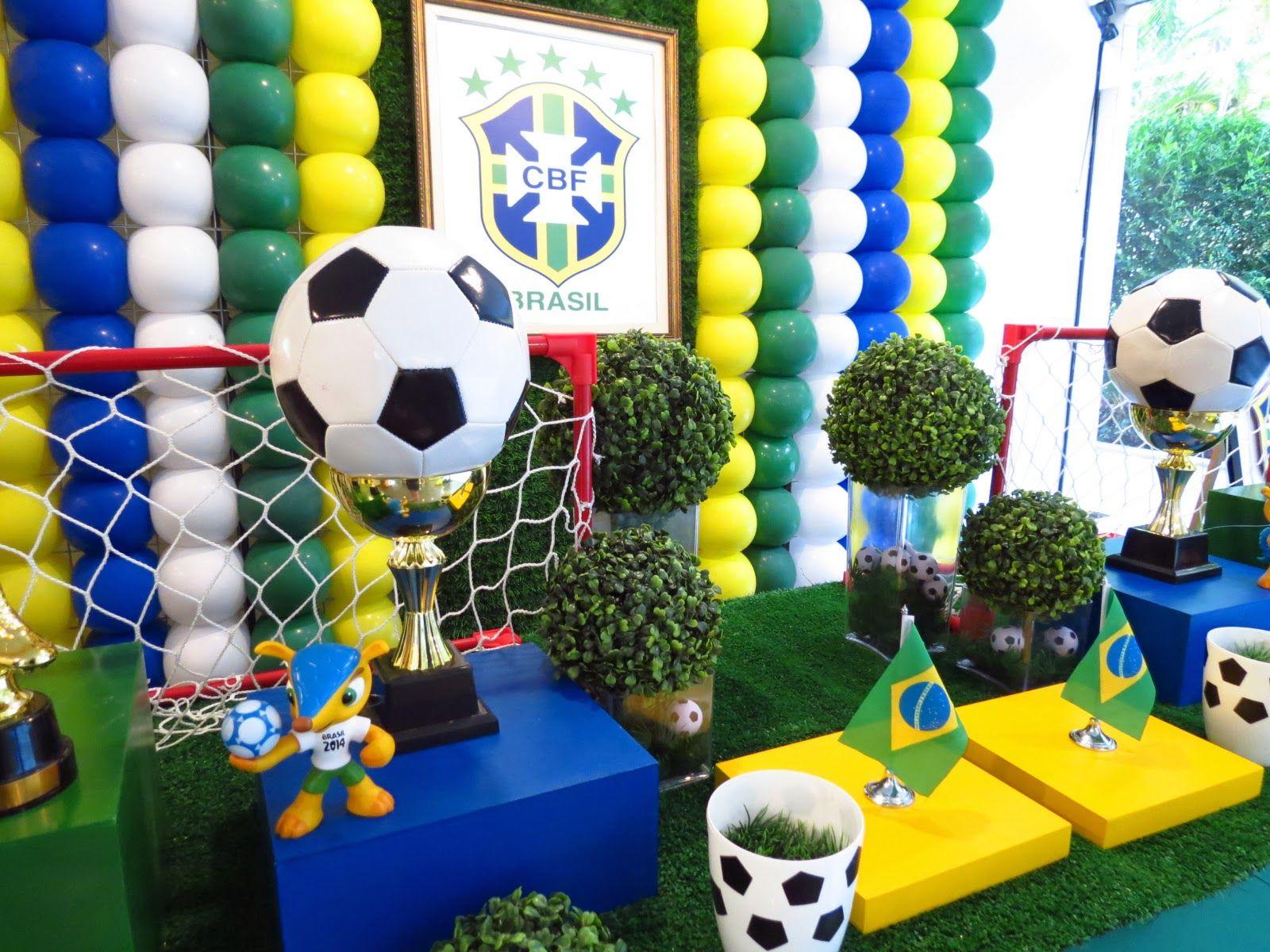 Farolita Decoração de Festas Infantis: COPA BRASIL