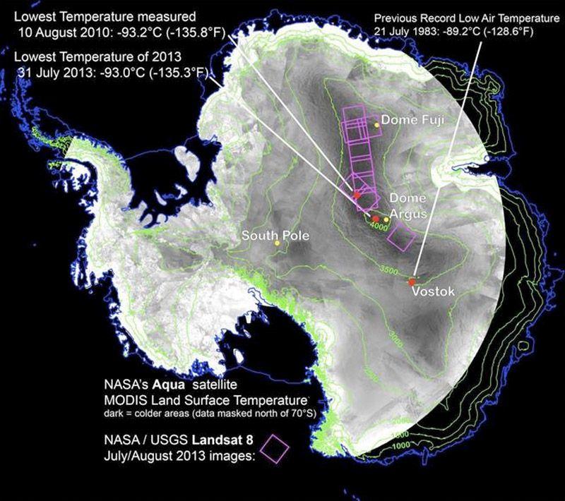 El Lugar Más Frío De La Tierra Antartida Tierra Frio