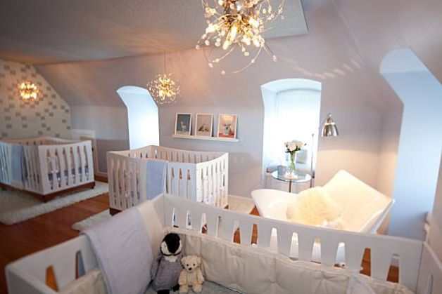 How To Create A Safe Baby Nursery With Style Triplets Nursery Modern Baby Nursery Nursery Room Design Bedroom ideas for quadruplets