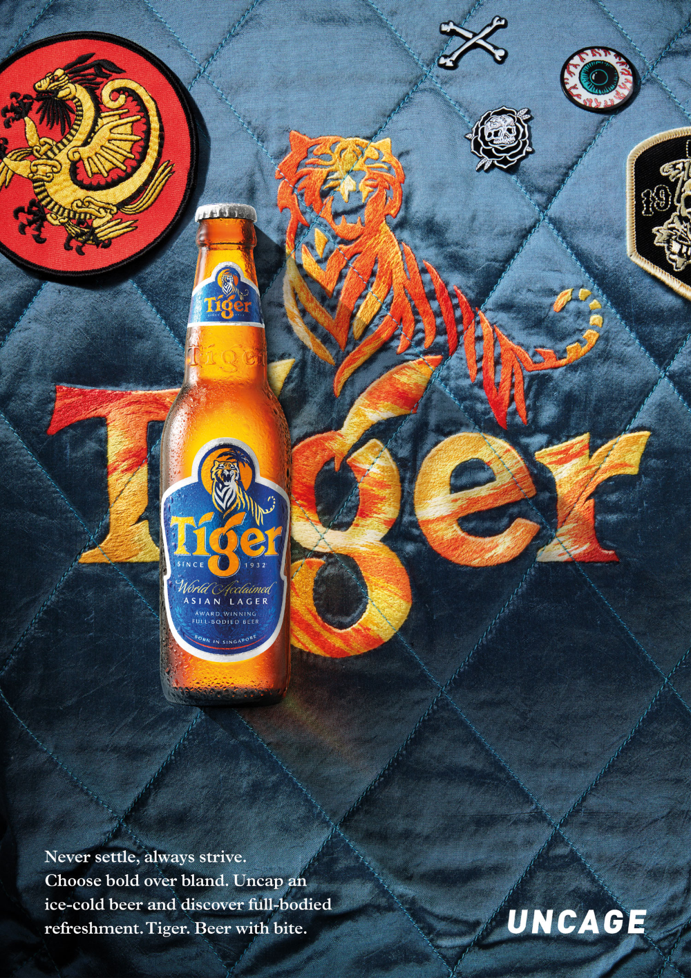 Pin By Nguya N Trung Tan On Tiger In 2020 Tiger Beer Creative Illustration Cold Beer