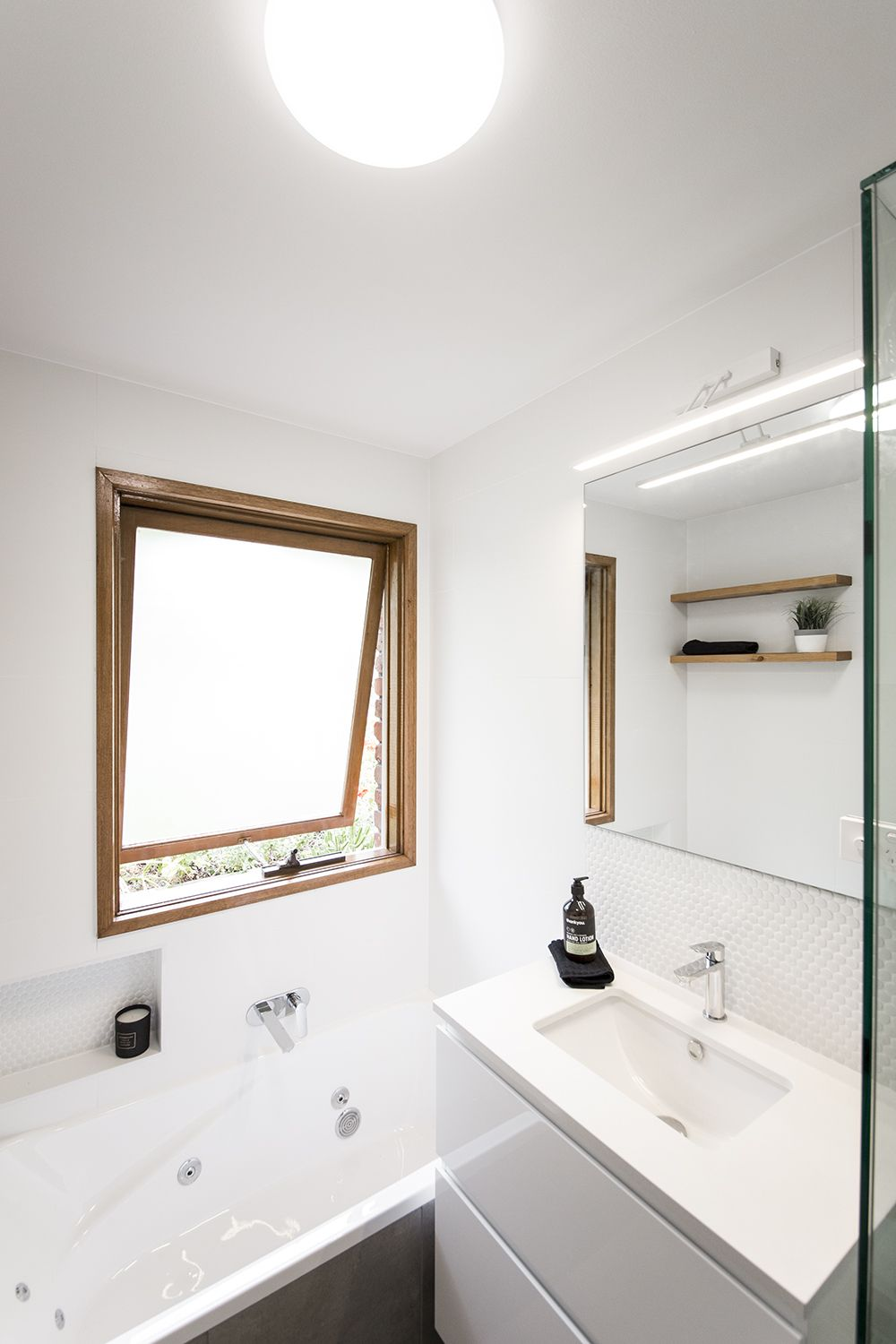 Another stylish bathroom renovation completed by our team. Designed ...