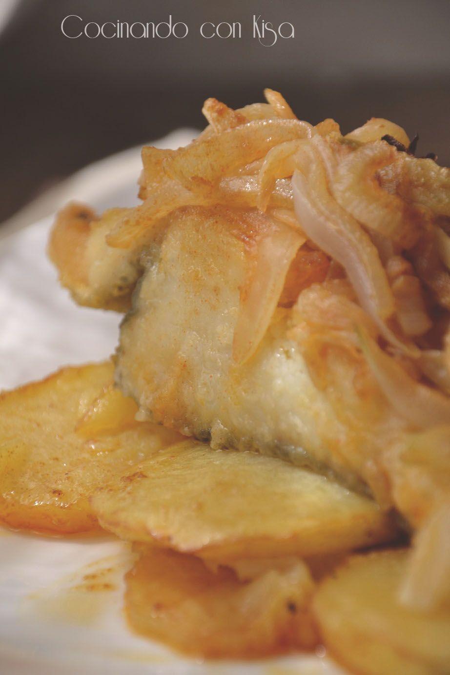Bacalao a la portuguesa cuanto mas sencilla la receta mas deliciosa es congelados aurelio - Cocinar bacalao congelado ...