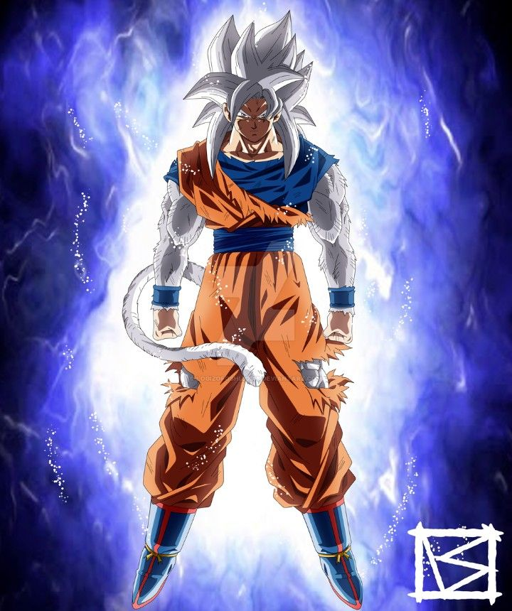 Ssj4 Goku Ultra Instinct Mastered Dragon Ball Super Dragon Ball