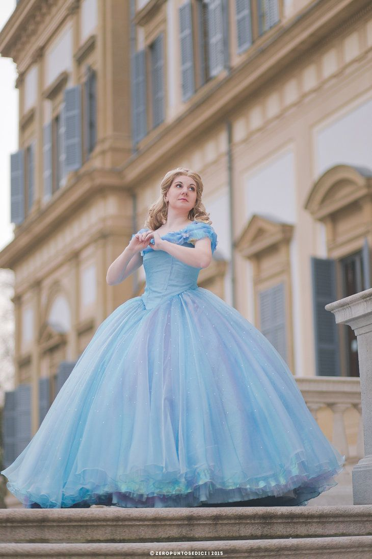 This Cosplay Artist\'s Homemade Ball Gown Costume Is Even Prettier ...