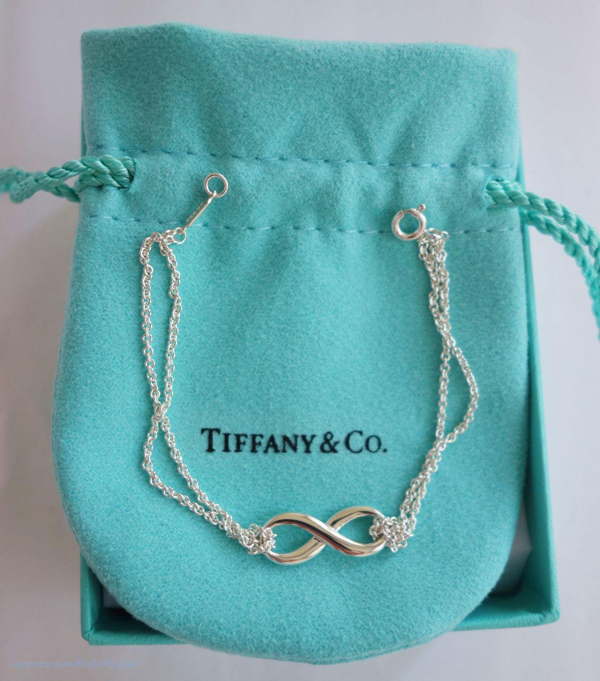 Silver Tiffany Infinity Bracelet