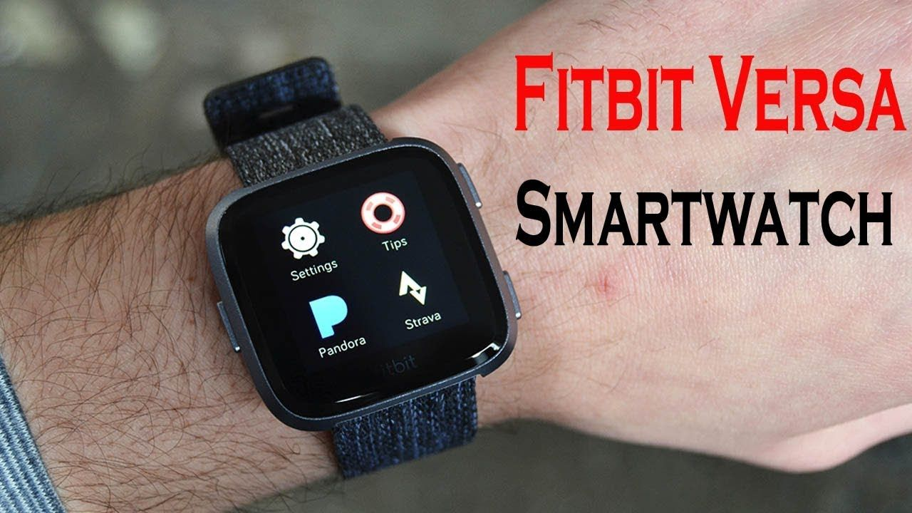 Fitbit Versa Special Edition Smartwatch Unboxing Review | Wearables