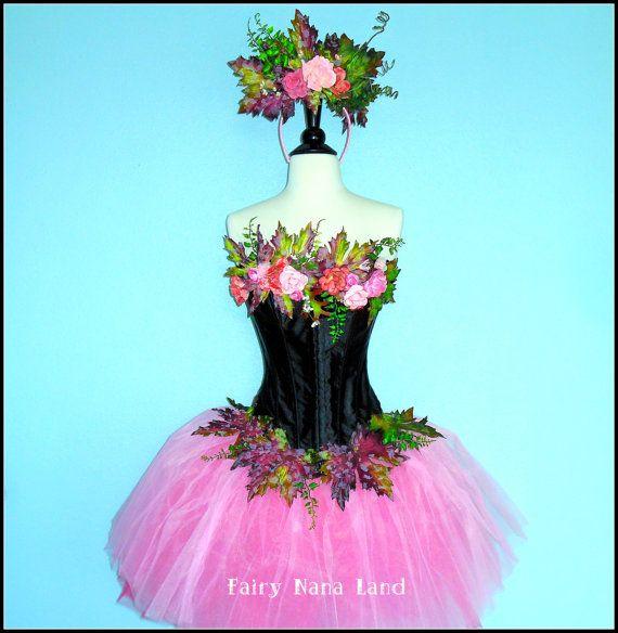 SALE - Adult Fairy Costume - corset top size medium - The ...