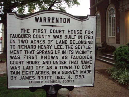 Town Of Warrenton Va Google Search Warrenton Fauquier County