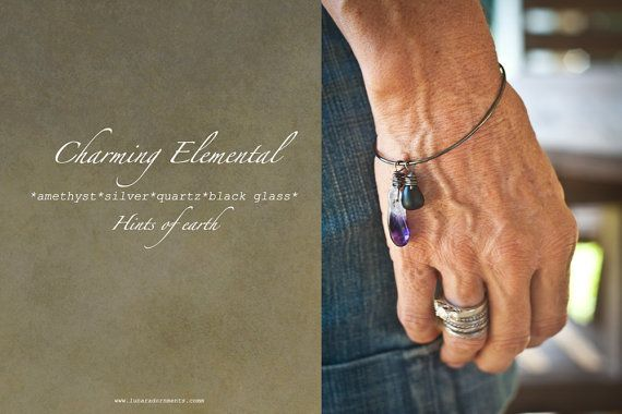 Charming Elementals:  Hints of Earth Bracelet by Lunar Adornments, $27.00