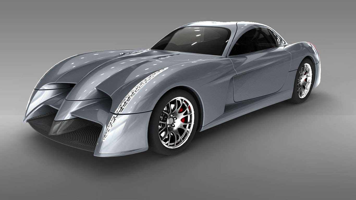 The Panoz Abruzzi Looks Like A Cast Off From The Decidedly Average
