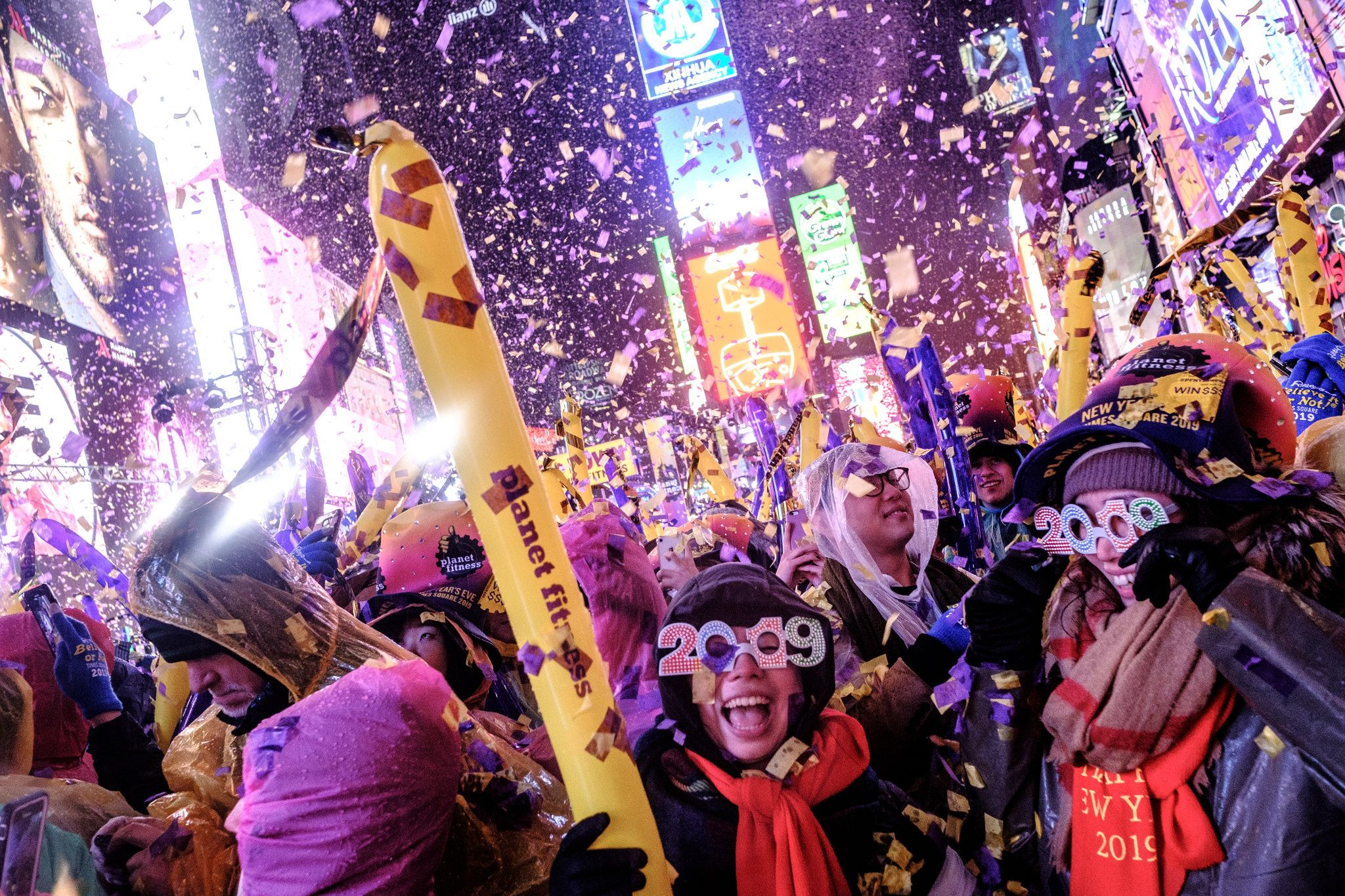 New Years Eve Around the World Countdown to 2019 in Photos